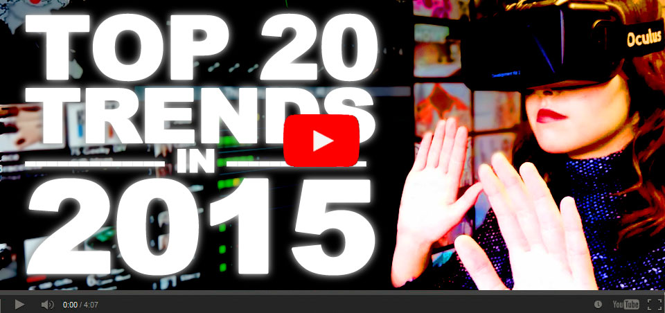 Top 20 Trends in 2015 Trend Reports