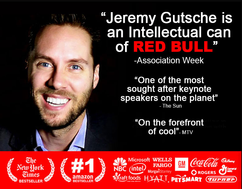Innovation Keynote Speaker Jeremy Gutsche Top