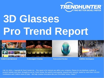 3D Glasses Trend Report and 3D Glasses Market Research
