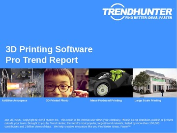 3D Printing Software Trend Report and 3D Printing Software Market Research
