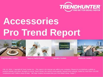 Accessories Trend Report and Accessories Market Research