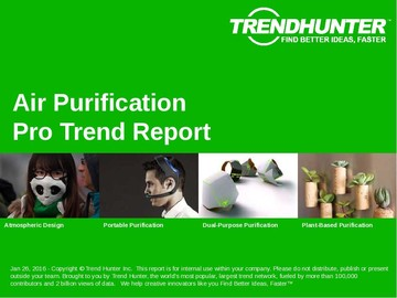 Air Purification Trend Report and Air Purification Market Research