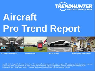 Aircraft Trend Report and Aircraft Market Research