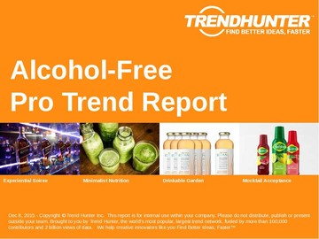 Alcohol-Free Trend Report and Alcohol-Free Market Research