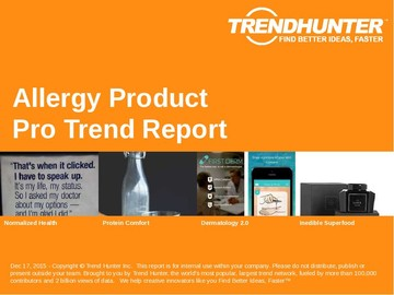 Allergy Product Trend Report and Allergy Product Market Research