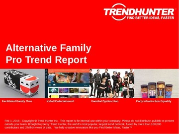 Alternative Family Trend Report and Alternative Family Market Research