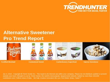 Alternative Sweetener Trend Report and Alternative Sweetener Market Research