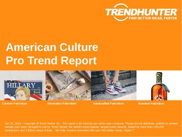 American Culture Trend Report and American Culture Market Research