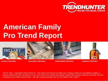 American Family Trend Report and American Family Market Research