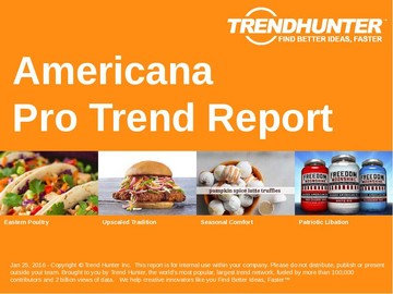 Americana Trend Report and Americana Market Research