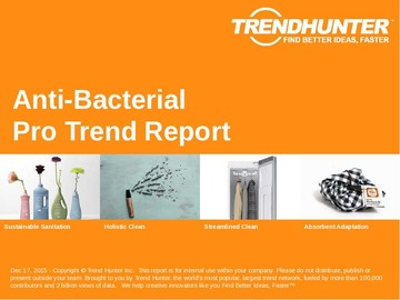 Anti-Bacterial Trend Report and Anti-Bacterial Market Research