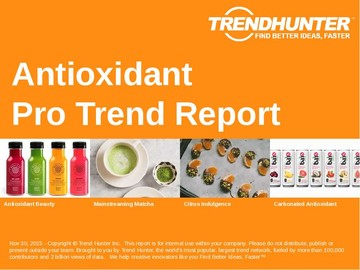 Antioxidant Trend Report and Antioxidant Market Research