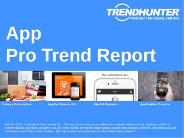 App Trend Report and App Market Research