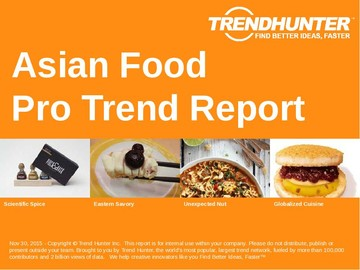 Asian Food Trend Report and Asian Food Market Research