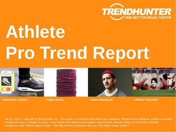 Athlete Trend Report and Athlete Market Research
