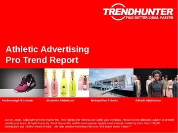 Athletic Advertising Trend Report and Athletic Advertising Market Research
