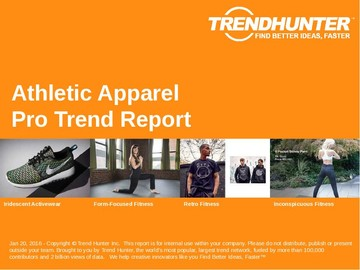 Athletic Apparel Trend Report and Athletic Apparel Market Research