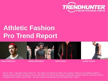 Athletic Fashion Trend Report and Athletic Fashion Market Research