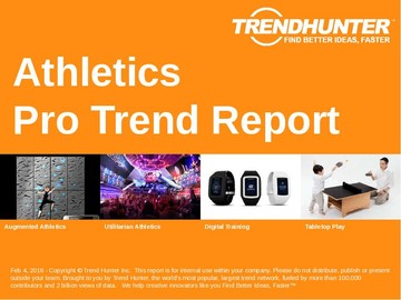 Athletics Trend Report and Athletics Market Research