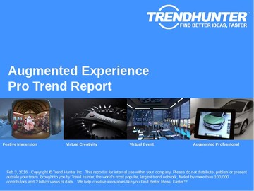 Augmented Experience Trend Report and Augmented Experience Market Research