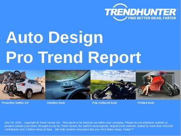Auto Design Trend Report and Auto Design Market Research