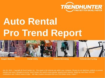 Auto Rental Trend Report and Auto Rental Market Research