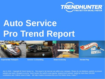 Auto Service Trend Report and Auto Service Market Research