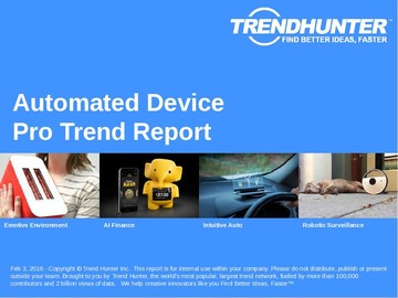 Automated Device Trend Report and Automated Device Market Research