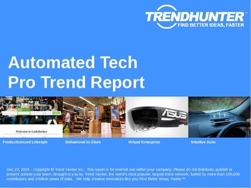 Automated Tech Trend Report and Automated Tech Market Research