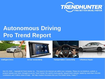 Autonomous Driving Trend Report and Autonomous Driving Market Research