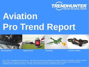 Aviation Trend Report and Aviation Market Research