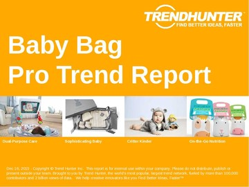 Baby Bag Trend Report and Baby Bag Market Research