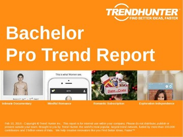 Bachelor Trend Report and Bachelor Market Research