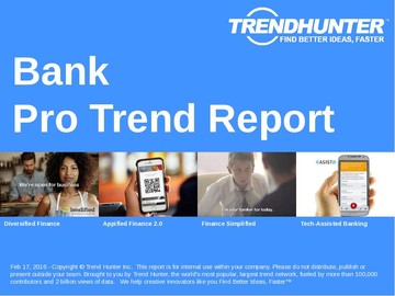 Bank Trend Report and Bank Market Research