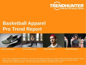 Basketball Apparel Trend Report and Basketball Apparel Market Research