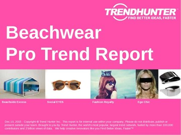 Beachwear Trend Report and Beachwear Market Research