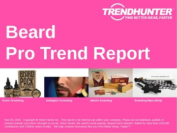Beard Trend Report and Beard Market Research