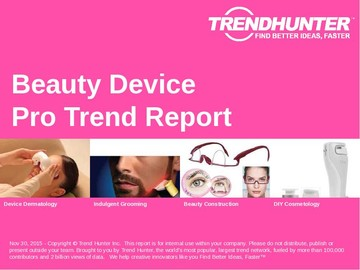 Beauty Device Trend Report and Beauty Device Market Research