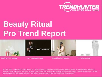 Beauty Ritual Trend Report and Beauty Ritual Market Research