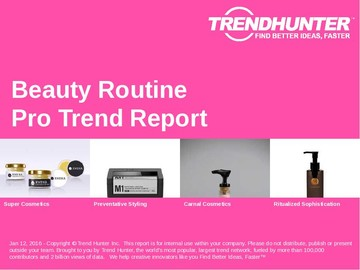 Beauty Routine Trend Report and Beauty Routine Market Research