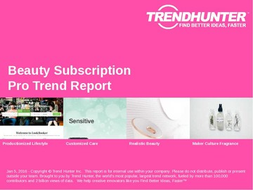 Beauty Subscription Trend Report and Beauty Subscription Market Research