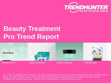 Beauty Treatment Trend Report and Beauty Treatment Market Research