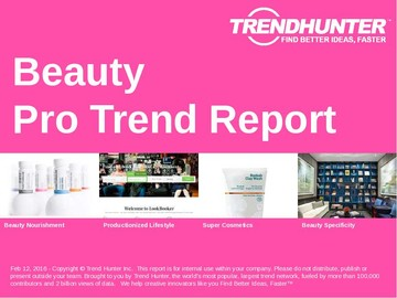 Beauty Trend Report and Beauty Market Research
