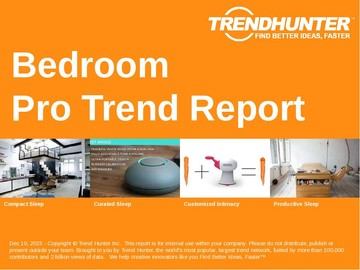 Bedroom Trend Report and Bedroom Market Research