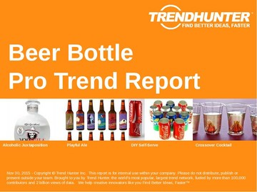 Beer Bottle Trend Report and Beer Bottle Market Research