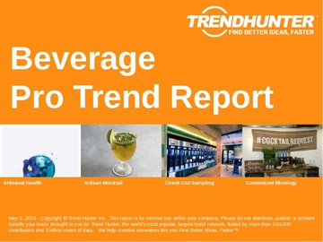 Beverage Trend Report and Beverage Market Research