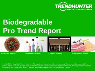 Biodegradable Trend Report and Biodegradable Market Research