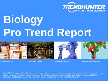 Biology Trend Report and Biology Market Research