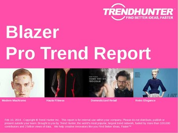 Blazer Trend Report and Blazer Market Research