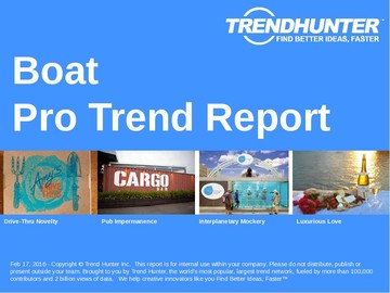 Boat Trend Report and Boat Market Research